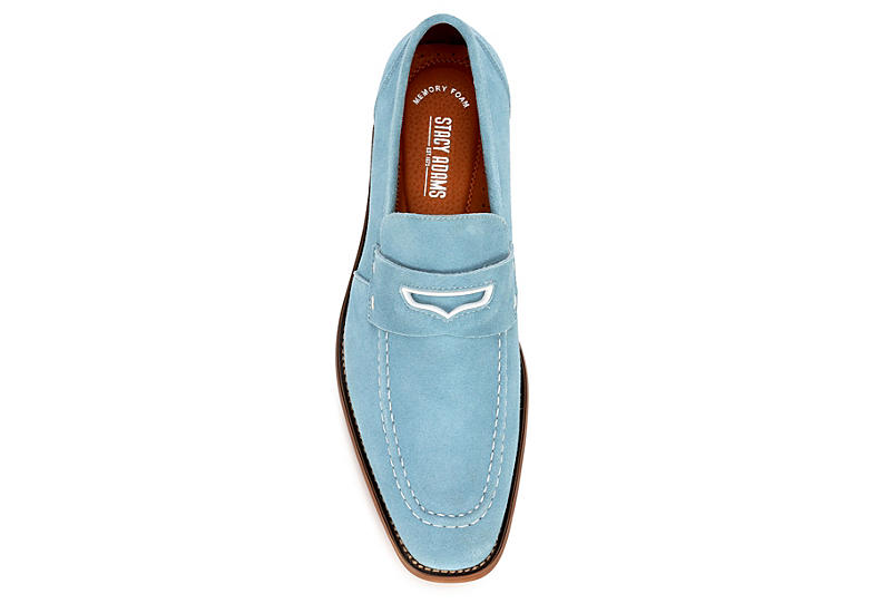 STACY ADAMS Mens Colfax - PALE BLUE
