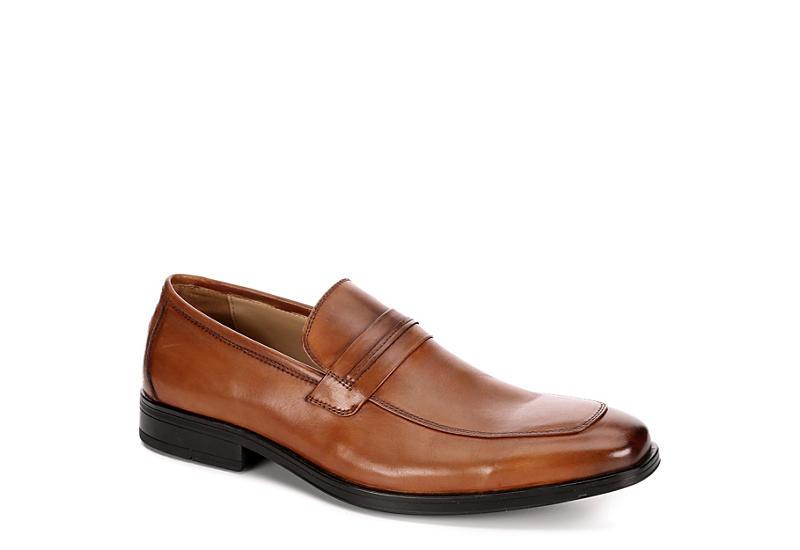 STEVE MADDEN Mens Clive Dress Loafer - TAN