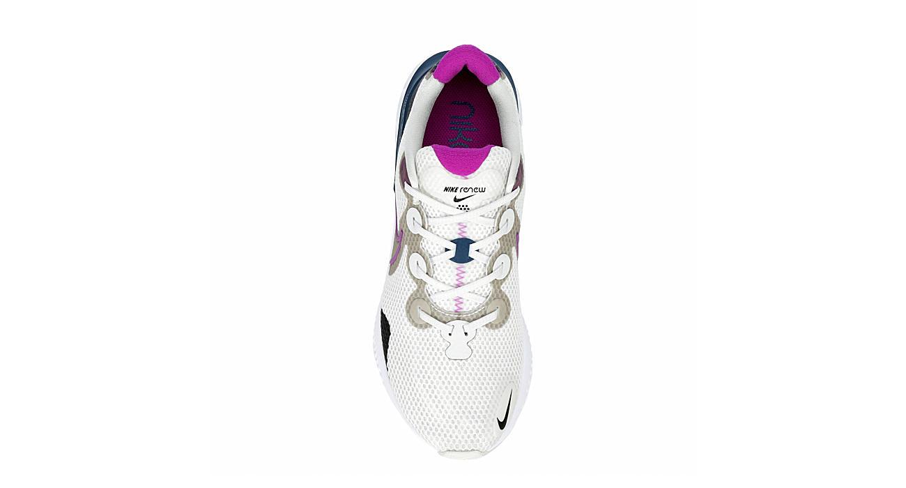 NIKE Womens Renew Run Running Shoe - PALE GREY