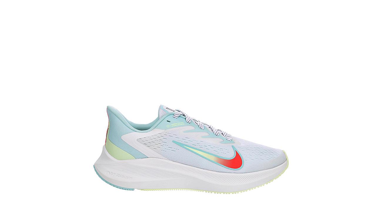 NIKE Womens Zoom Winflo 7 Running Shoe - WHITE