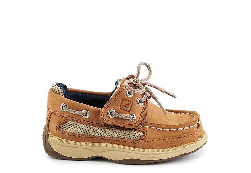 SPERRY Boys Infant Boys Lanyard Ac Boat Shoe - DARK TAN