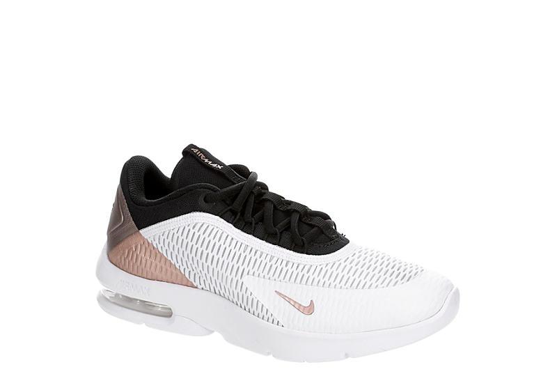 BLACK NIKE Womens Air Max Advantage 3 Sneaker