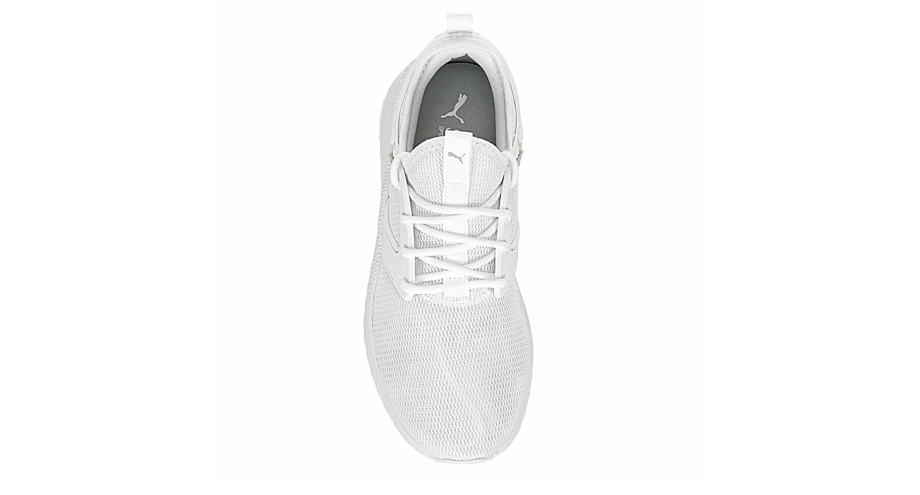 PUMA Womens Pacer Cage Sneaker - WHITE