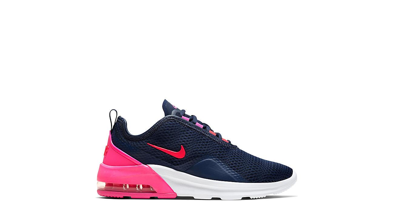 NIKE Womens Air Max Motion 2 Sneaker - NAVY