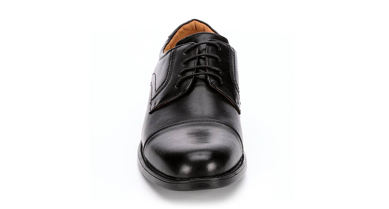 FLORSHEIM Mens Midtown Cap Toe Dress Oxford - BLACK