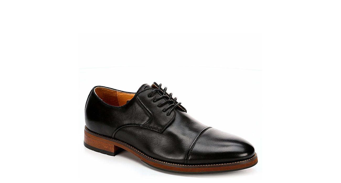 FLORSHEIM Mens Blaze Cap Toe Dress Oxford - BLACK