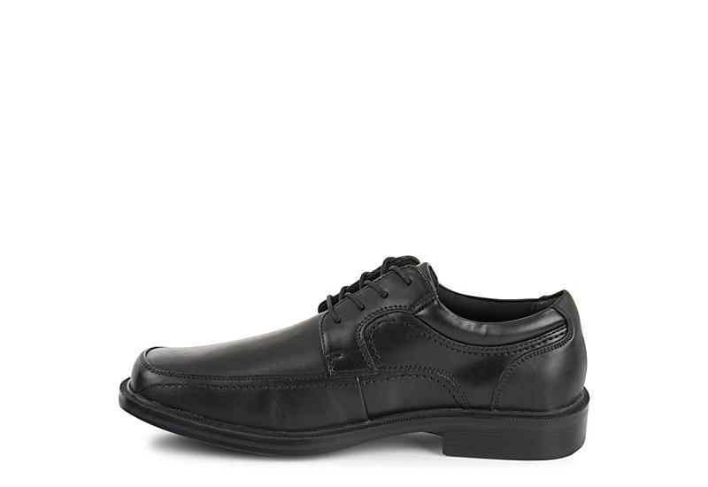 DOCKERS Mens Manvel Square Toe Dress Oxford - BLACK