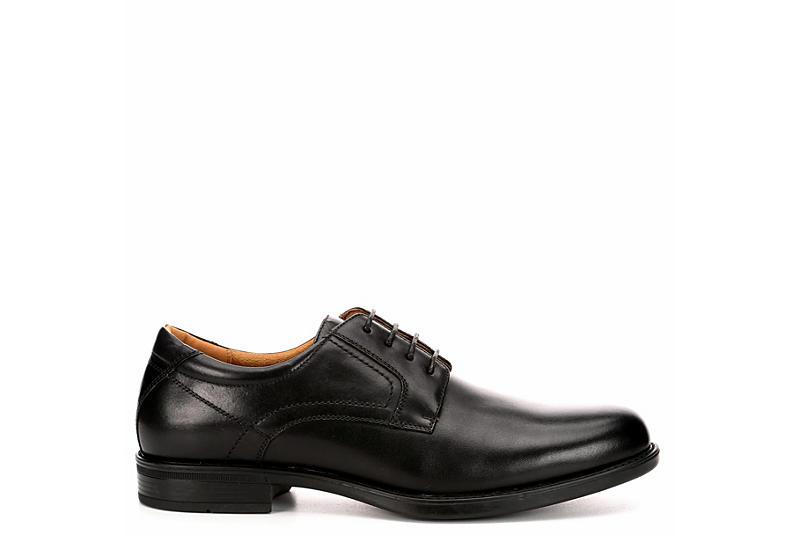 FLORSHEIM Mens Midtown Plain Toe Dress Oxford - BLACK