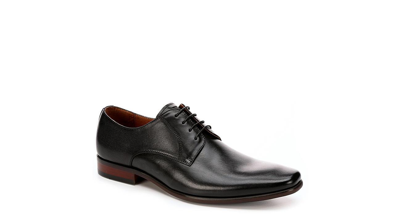 FLORSHEIM Mens Postino Plain Toe Dress Oxford - BLACK