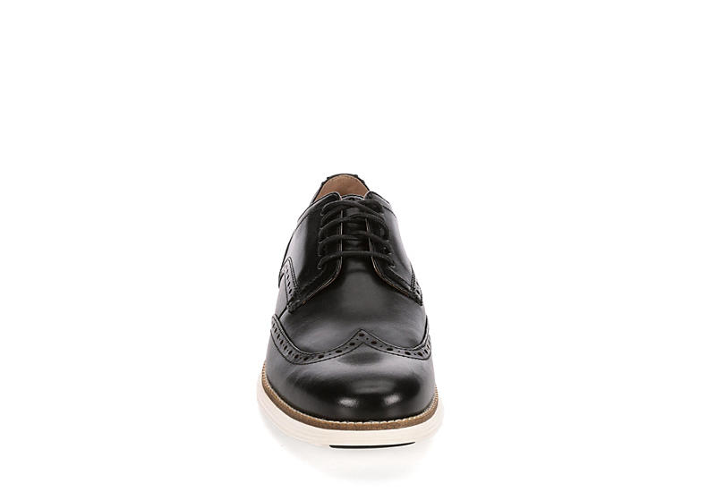 COLE HAAN Mens Original Grand Wingtip Oxford - BLACK
