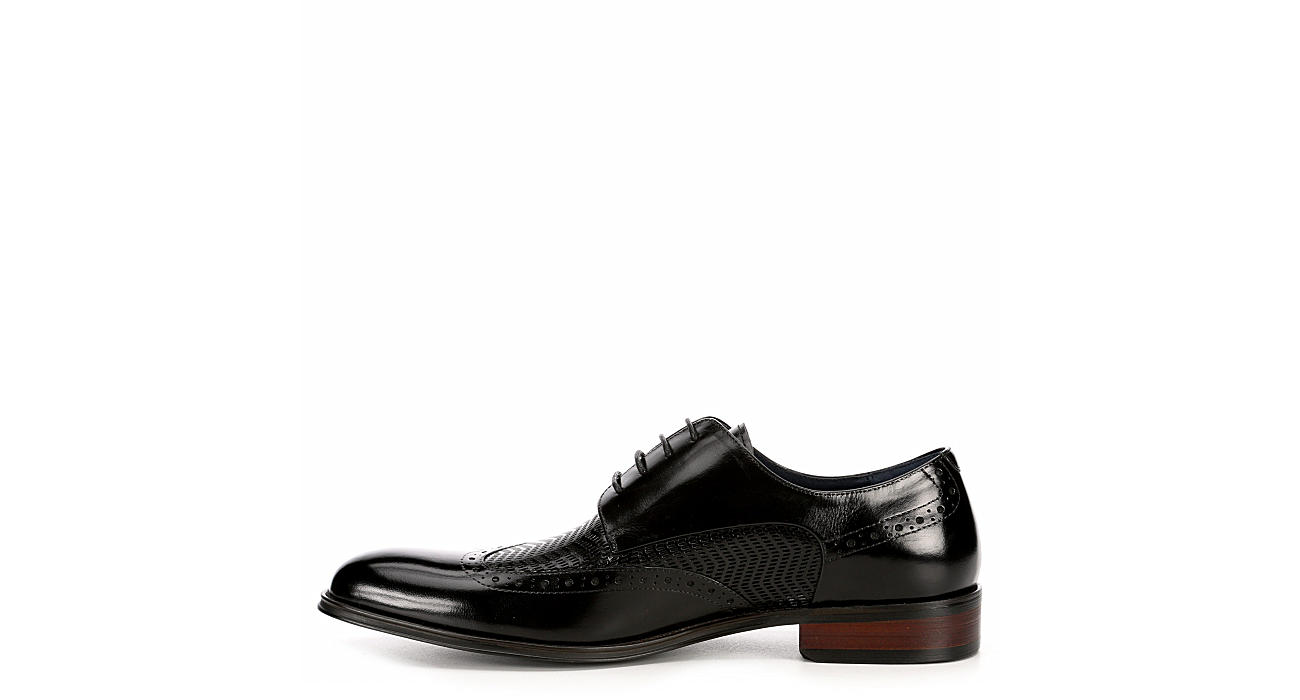 STACY ADAMS Mens Maguire - BLACK