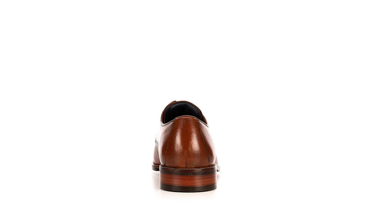 COLE HAAN Mens Lenox Hill Cap Toe Dress Oxford - TAN