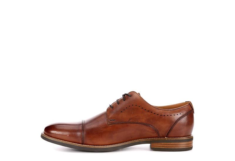 FLORSHEIM Mens Uptown Cap Toe Dress Oxford - COGNAC