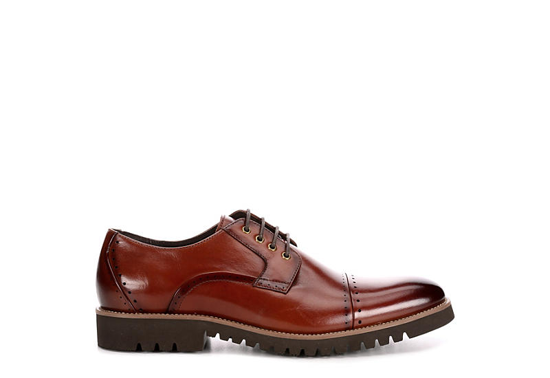 STACY ADAMS Mens Barcliff - COGNAC