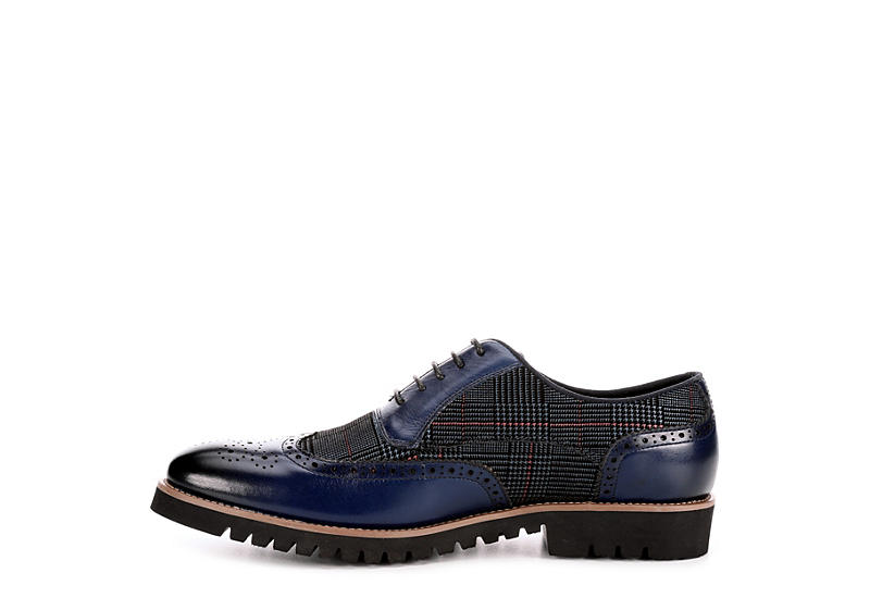 STACY ADAMS Mens Baxley - NAVY