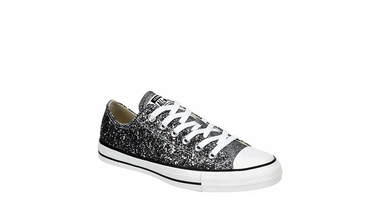 CONVERSE Womens Chuck Taylor All Star Low Sneaker - SILVER