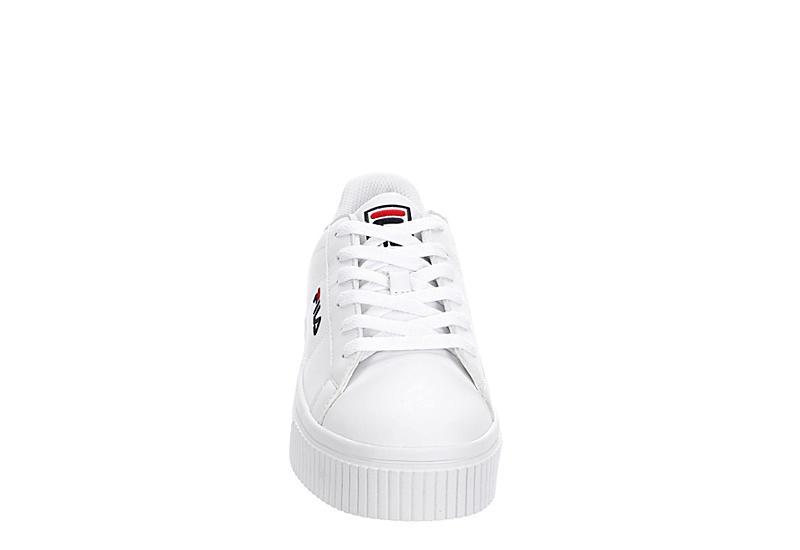 FILA Womens Panache Sneaker - WHITE