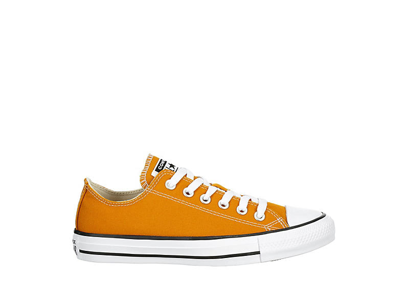 CONVERSE Womens Chuck Taylor All Star Low Sneaker - ORANGE