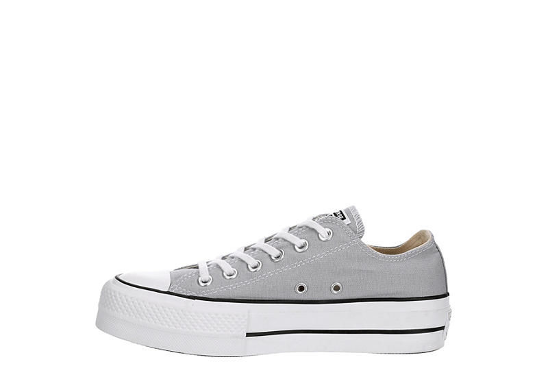 CONVERSE Womens Chuck Taylor All Star Low Lift Sneaker - GREY