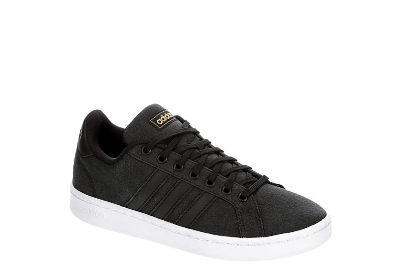 ADIDAS Womens Grand Court Sneaker - BLACK