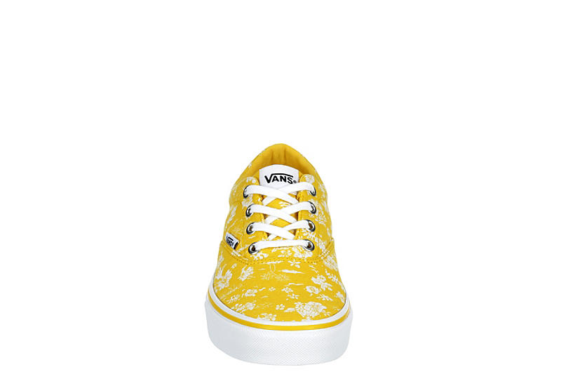 VANS Womens Doheny Sneaker - YELLOW
