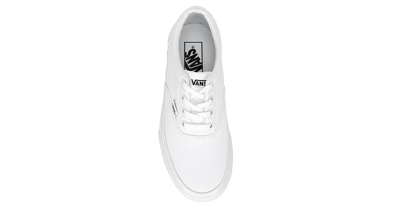 VANS Womens Doheny Platform Sneaker - WHITE