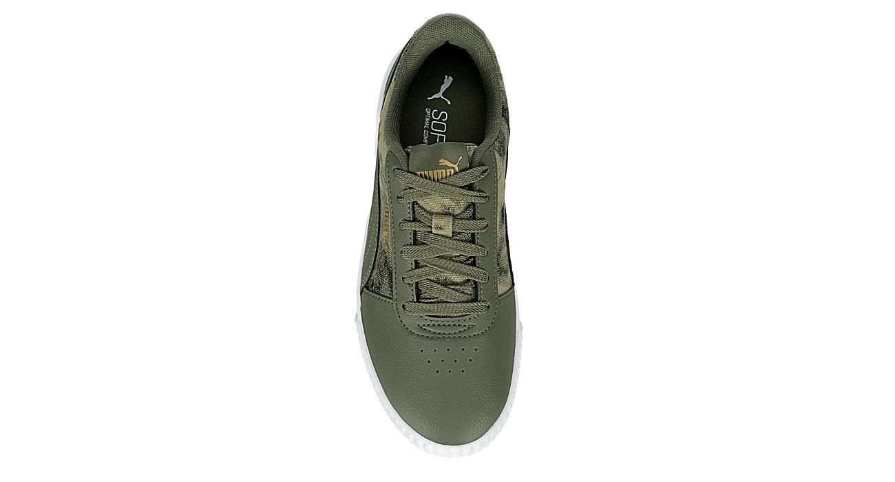 PUMA Womens Carina Sneaker - OLIVE