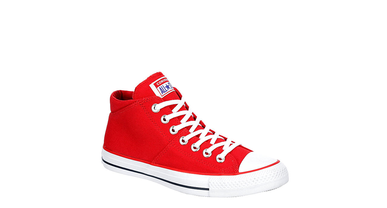 CONVERSE Womens Madison Mid Sneaker - RED