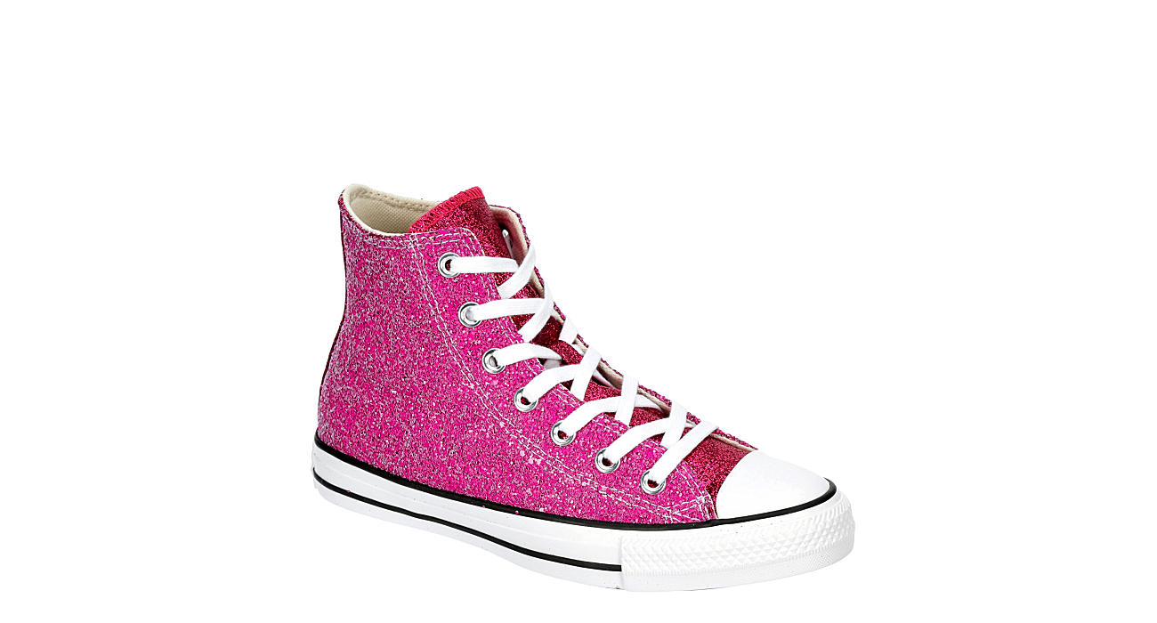 CONVERSE Womens Chuck Taylor All Star High Top Sneaker - PINK