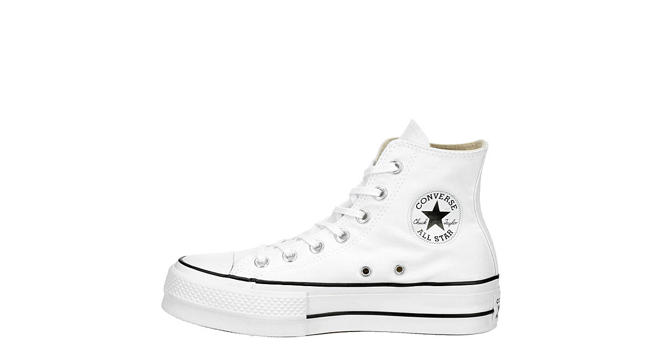 CONVERSE Womens Chuck Taylor All Star High Top Lift Sneaker - WHITE