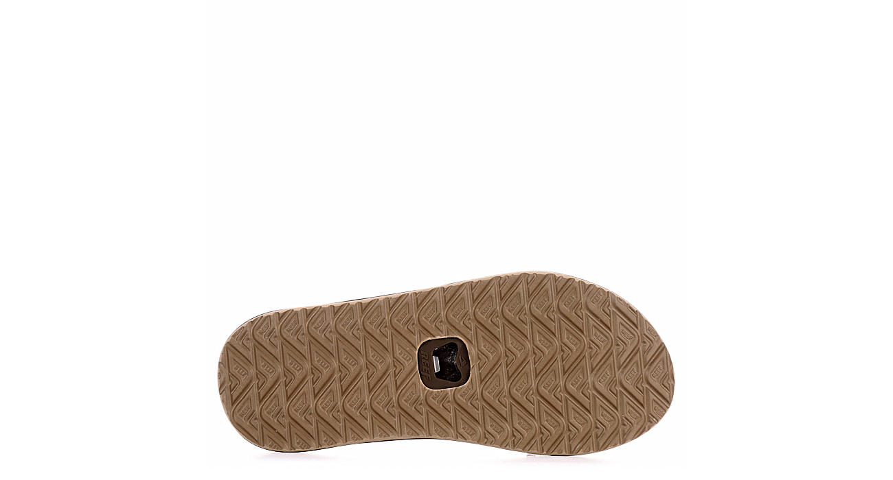 REEF Mens Element Tqt Flip Flop Sandal - BROWN
