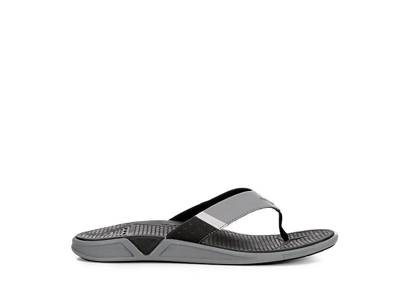 COLUMBIA Mens Rostra Flip Flop Sandal - BLACK