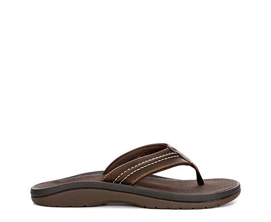 Mens Pacific Leather Flip Flop Sandal