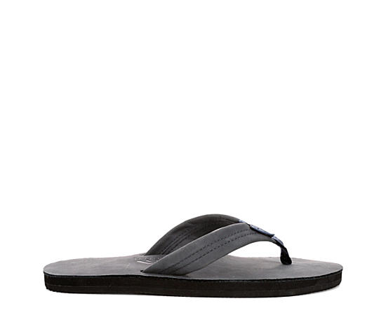 Mens 301 Alts Single Layer Leather Thong Sandal