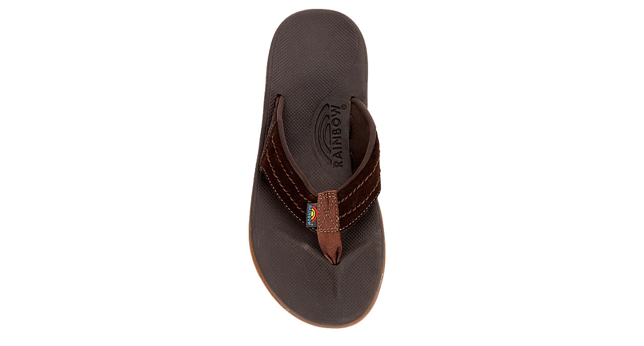 RAINBOW SANDALS Mens East Cape - DARK BROWN