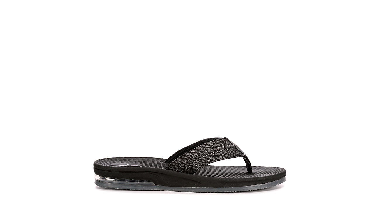 BLUEFIN Mens Key West Flip Flop Sandal - GREY