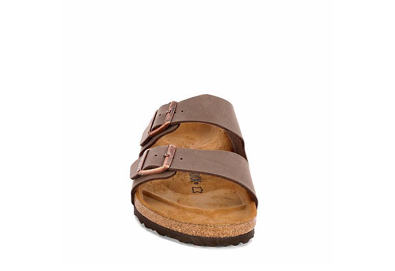BIRKENSTOCK Mens Arizona 2 Strap Slide Sandal - CHOCOLATE