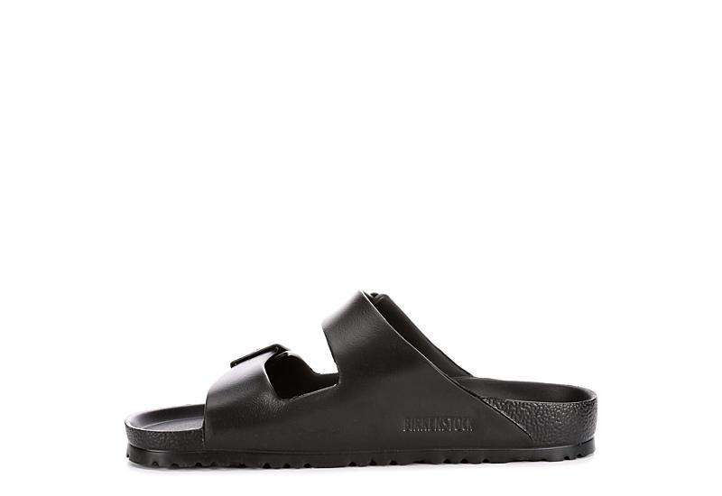 BIRKENSTOCK Mens Arizona Essentials Eva 2 Strap Slide Sandal - BLACK