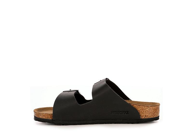 BIRKENSTOCK Mens Arizona 2 Strap Slide Sandal - BLACK