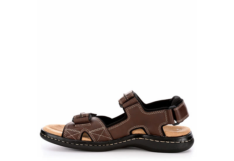 DOCKERS Mens Newpage Fisherman Sandal - BROWN