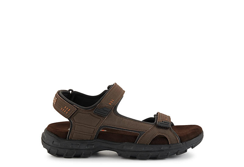 SKECHERS Mens Connor-louden Relaxed Fit Sport Sandal - BROWN