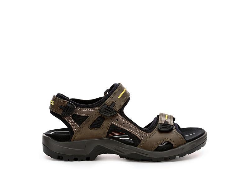 ECCO Mens Yucatan Sport Sandal - TAUPE