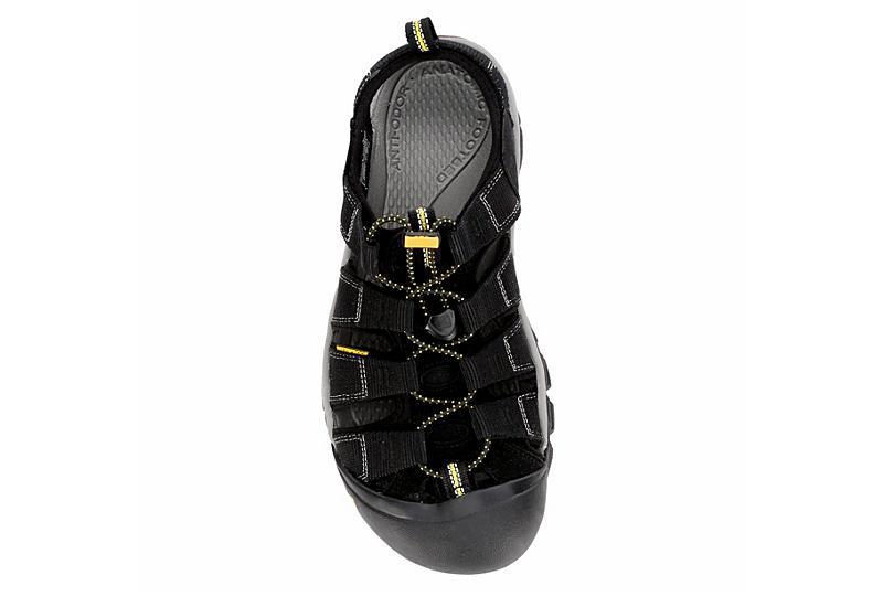 KEEN Mens Newport Fisherman Sandal - BLACK