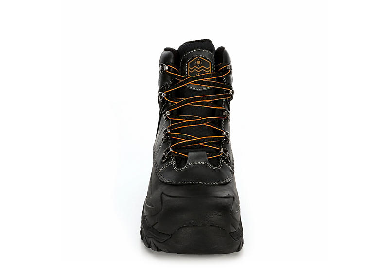 KHOMBU Mens Fitzroy Waterproof Boot - BLACK