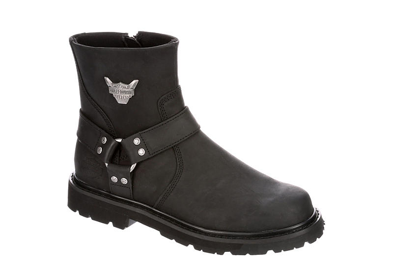 HARLEY DAVIDSON Mens Rambert 8 Casual Boot - BLACK