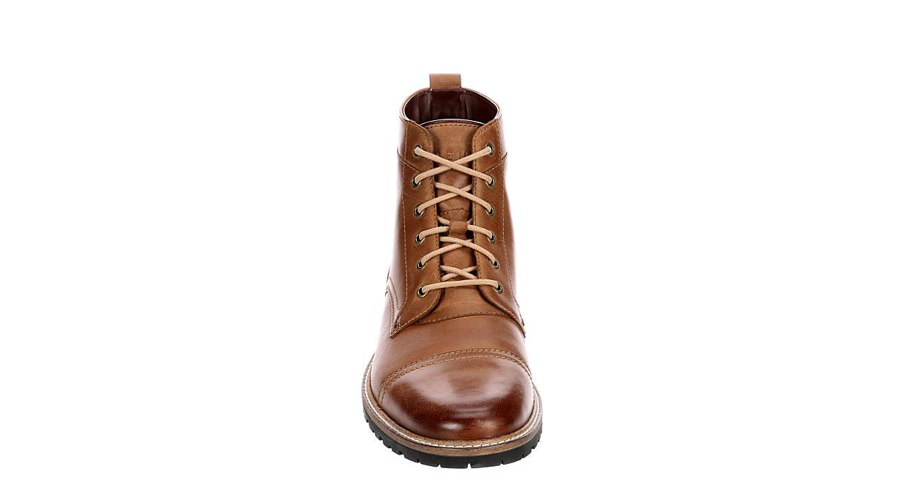 COLE HAAN Mens Nathan Cap Casual Boot - BROWN