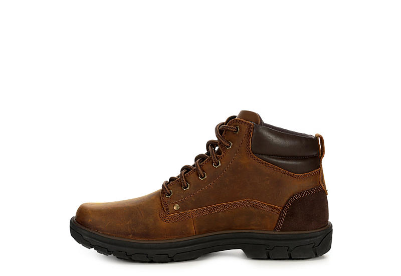 SKECHERS Mens Segment-garnet Leather Boot - BROWN