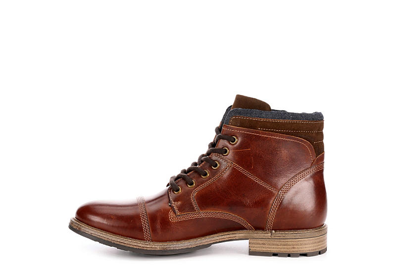 FRANCO FORTINI Mens Dillan Casual Boot - TAN