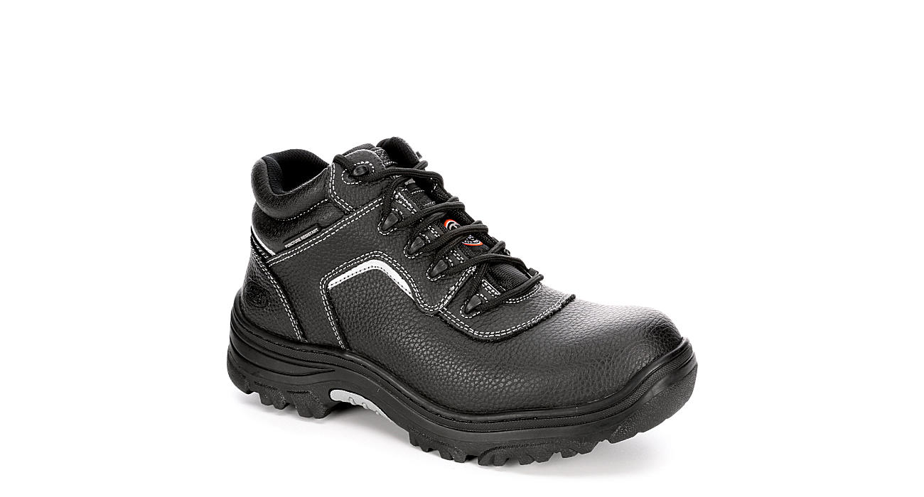 SKECHERS Mens Burgin-sosder Work Safety Boot - BLACK