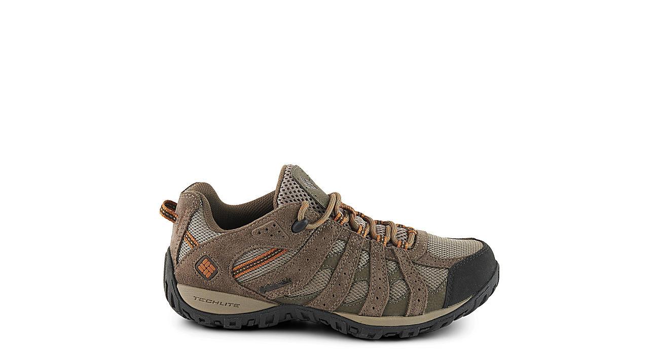 COLUMBIA Mens Redmond Wtpf Hiking Shoe - TAUPE